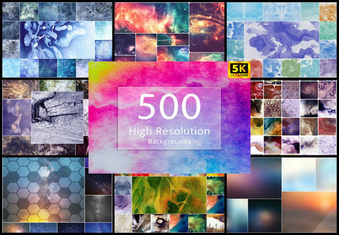High Resolution Backgrounds Designs