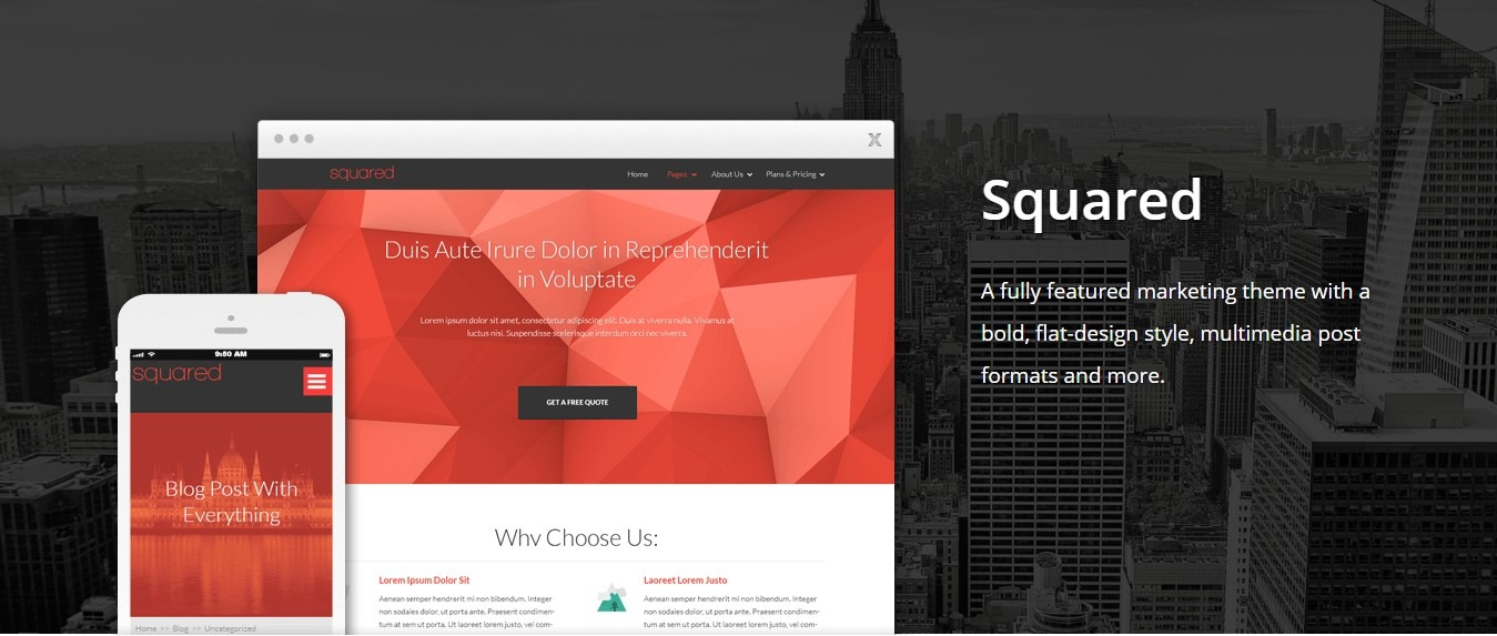 Squared By Thrive Themes