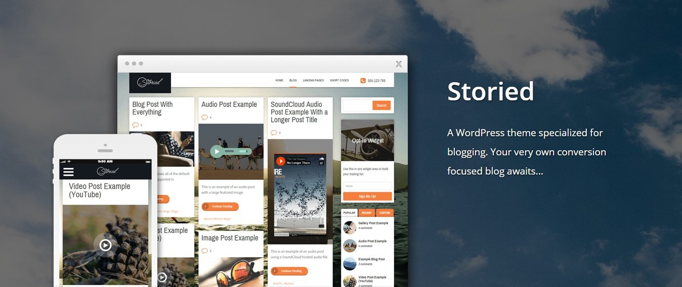 Storied By Thrive Themes