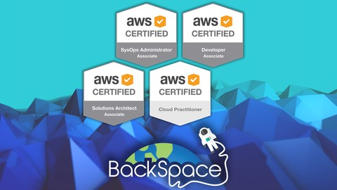 [Udemy] Amazon Web Services (AWS) Certified - 4 Certifications!